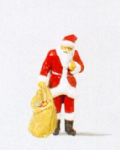 Preiser 29027  Santa Claus with Gifts